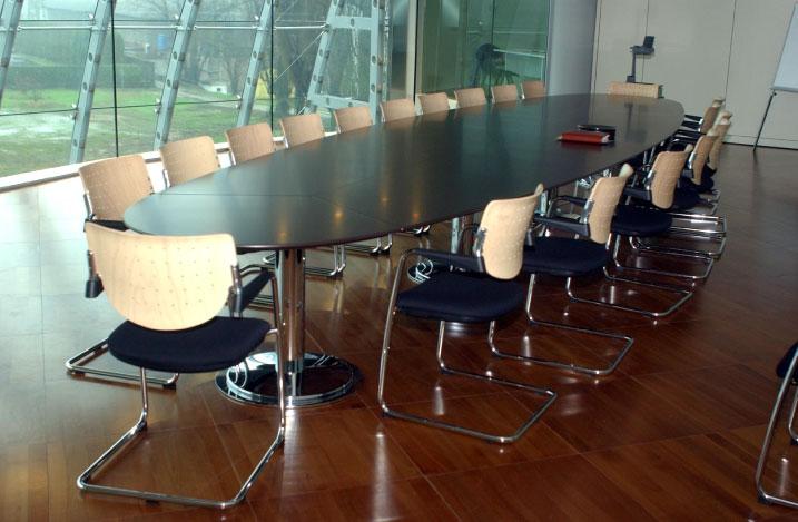Arredo Uffici Torino Tavoli E Sedie Riunione 3d Office